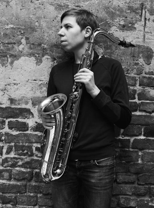 Birgitta Flick, Saxophonistin, Musikerin, Jazz, 2016, Berlin